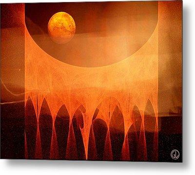 Strange Moon Metal Print by Gun Legler