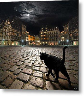 Strasbourg's Night Metal Print by Igor Zenin