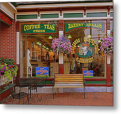 Strasburg Country Store Metal Print by Mary Beth Landis