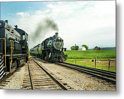 Strasburg Express Metal Print by Paul W Faust -  Impressions of Light