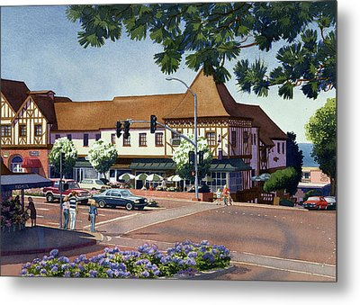 Stratford Square Del Mar Metal Print by Mary Helmreich