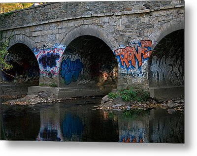 Metal Print featuring the photograph Stream Art by Greg Graham