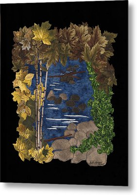 Stream Of Tranquility Metal Print by Anita Jacques