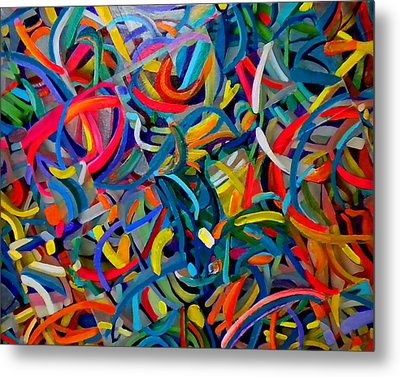 Streamers Of Joy Metal Print by Michael Durst