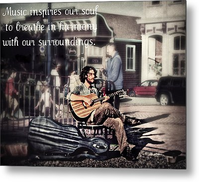 Street Beats Inspiration Metal Print