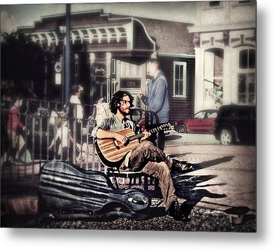 Metal Print featuring the photograph Street Beats by Melanie Lankford Photography