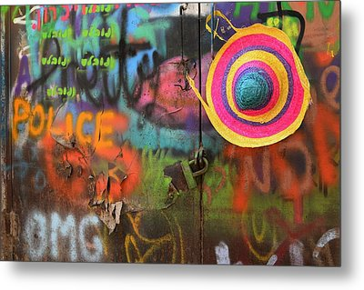 Street Colors Metal Print