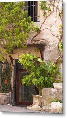 Street Entrance Metal Print by Bob Phillips