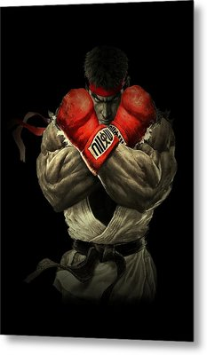 Street Fighter Metal Print