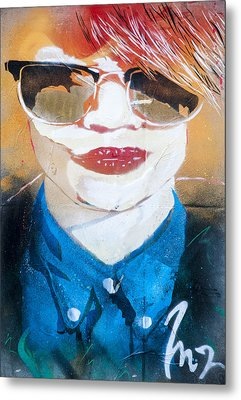 Street Graffiti Art Metal Print