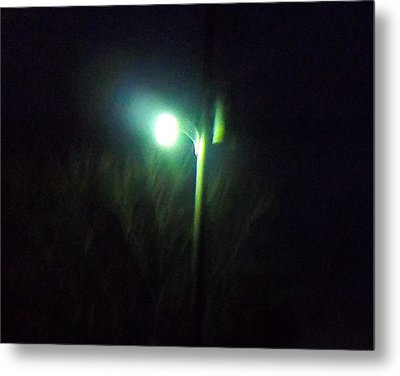 Street Light Metal Print by Rosalie Klidies