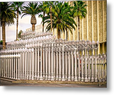 Street Lights Metal Print by Joseph Hollingsworth