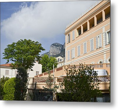 Metal Print featuring the photograph Street Of Monaco by Allen Sheffield
