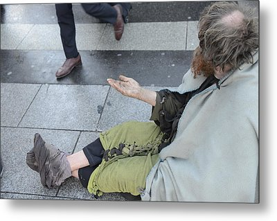 Street People - A Touch Of Humanity 25 Metal Print