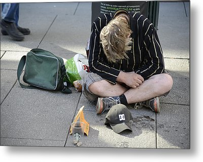 Street People - A Touch Of Humanity 8 Metal Print