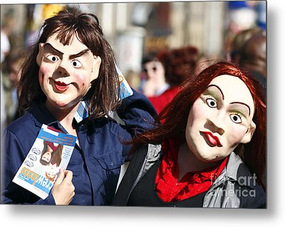 Street Performers Metal Print by Craig B