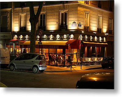 Street Scenes - Paris France - 011317 Metal Print by DC Photographer
