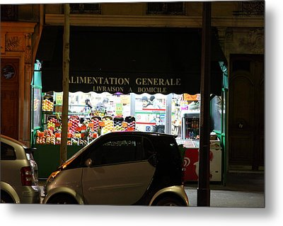 Street Scenes - Paris France - 011319 Metal Print by DC Photographer
