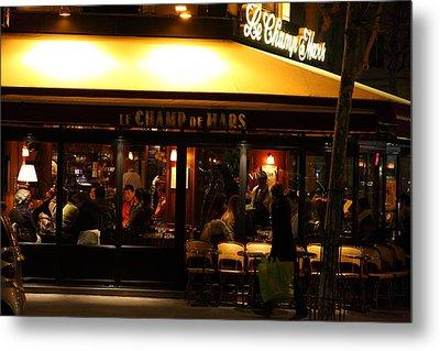 Street Scenes - Paris France - 011320 Metal Print by DC Photographer