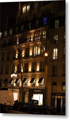Street Scenes - Paris France - 011347 Metal Print by DC Photographer