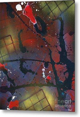 Street Spirit Metal Print by Roz Abellera Art