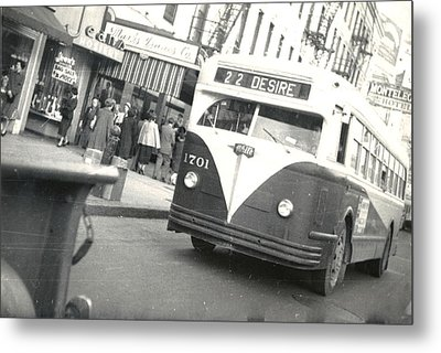 Streetcar Named Desire Metal Print