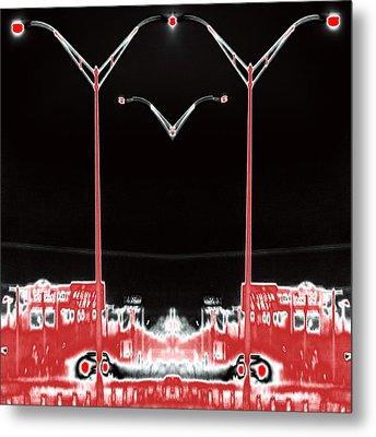 Streetlight Serenade 3 Metal Print by Wendy J St Christopher