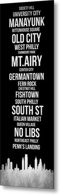 Streets Of Philadelphia 2 Metal Print