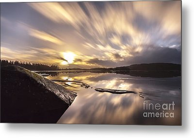 Metal Print featuring the photograph Strength In The Storm by Rose-Maries Pictures
