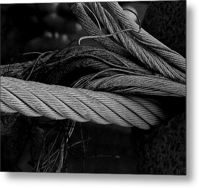 Strength Of Strings Metal Print by Odd Jeppesen