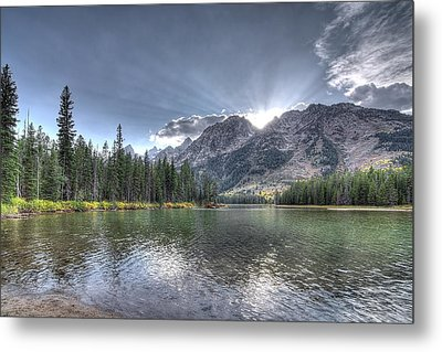 Metal Print featuring the photograph String Lake by Jeremy Farnsworth