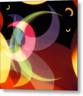 String Of Lights 1 Metal Print by Mike McGlothlen