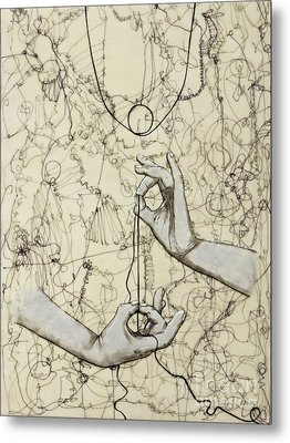 String Theory - This Moment Metal Print