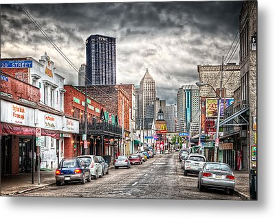 Strip District Pittsburgh Metal Print