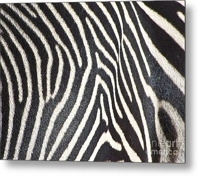Stripes And Ripples Metal Print