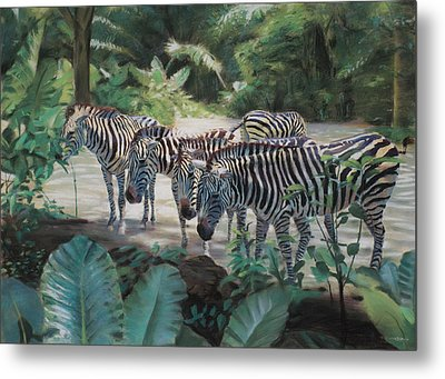 Stripes Metal Print by Christopher Reid