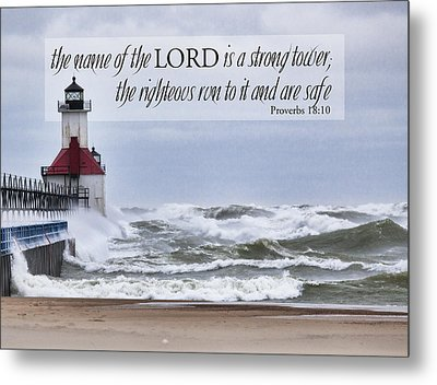 Strong Tower Metal Print by John Crothers