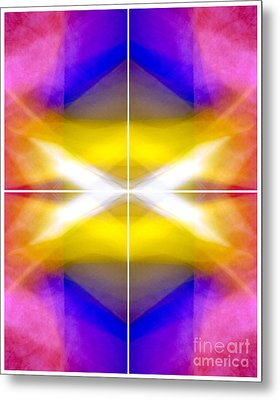Structural Elements - Polytych  Metal Print by Douglas Taylor