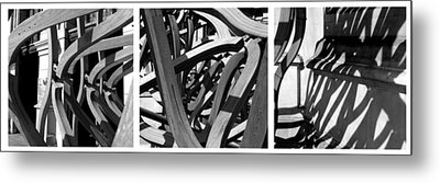 Structure #3 Metal Print by Tom Gallahue