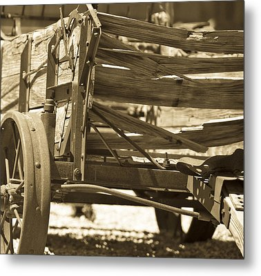 Studebaker  Wagon Metal Print