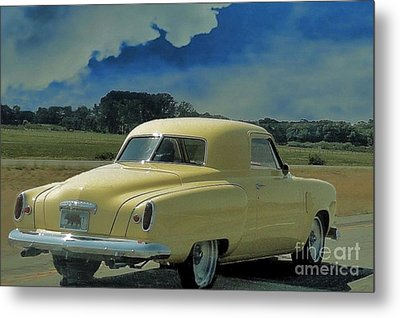 Studebaker Starlight Coupe Metal Print by Janette Boyd