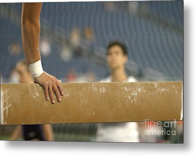 Metal Print featuring the photograph Student And Coach by Jim West