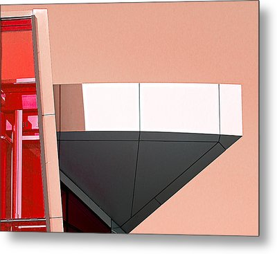 Study In Architecture Metal Print by Rick Mosher