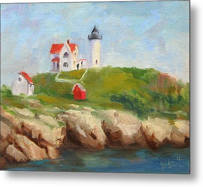 Study Of Nubble Light Metal Print