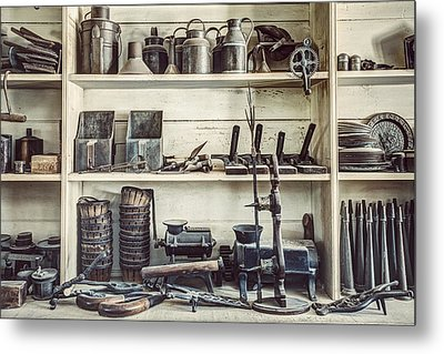 Stuff For Sale - Old General Store Metal Print