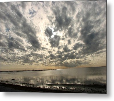 Metal Print featuring the photograph Stunning Coastal Sunrise by Linda Cox