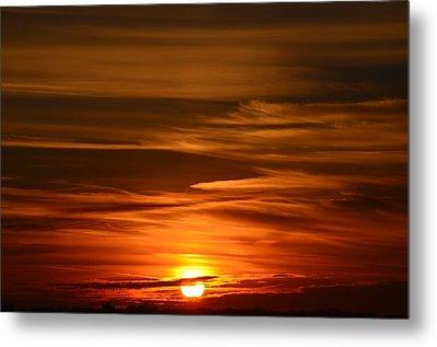 Stunning Sunset Metal Print by Nikki McInnes
