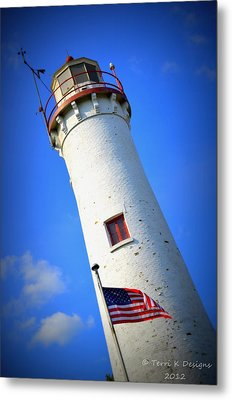Sturgeon Point Metal Print by Terri K Designs