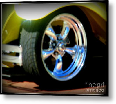 Metal Print featuring the photograph Stylin' Wheels by Bobbee Rickard
