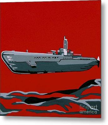 Submarine Sandwhich Metal Print by Slade Roberts